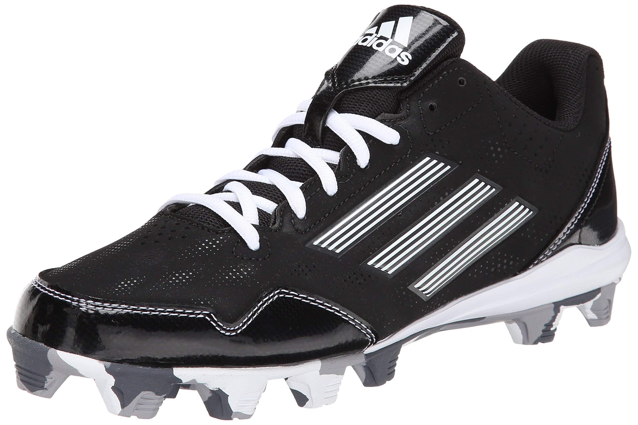 adidas Performance Men's Wheelhouse 2 Baseball Cleat, Black/White, 6.5 M US by adidas
