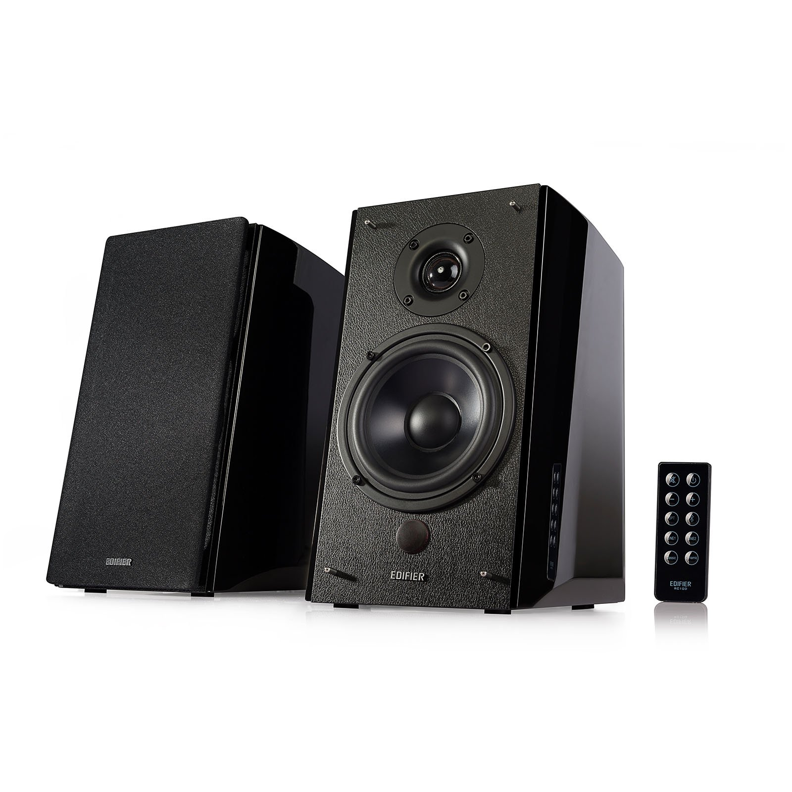 Edifier R2000DB Powered Bluetooth Bookshelf Speakers - Near-Field Studio Monitors - Optical Input - 5 inch Subwoofer - 120 Watts RMS by Edifier