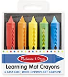 Melissa and Doug Handwriting Write-A-Mat Placemats (Bundle of 6)
