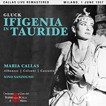 Maria Callas - Gluck: Ifigenia in Tauride (Milano, 01/06/1957)(2CD) - Amazon.com Music