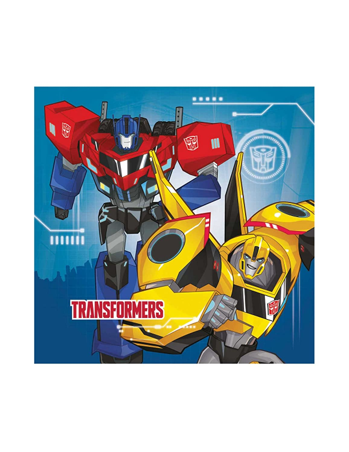 Delights Direct Transformers Lunch Napkins 9901304
