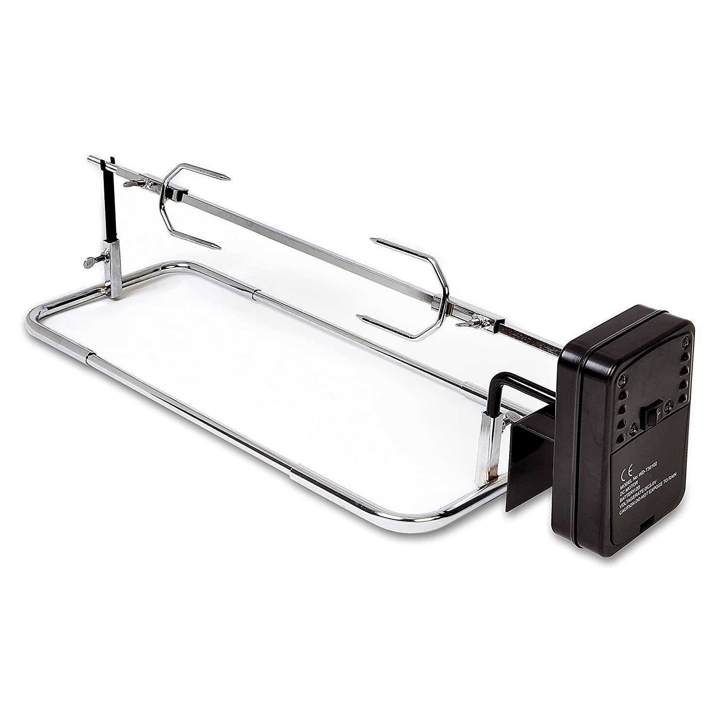 Lansdowne Use on any BBQ barbecue barbeque rotisserie with shish kebab attachment