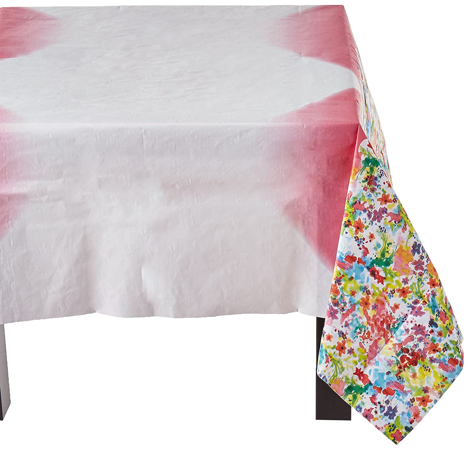 Perfect Amazon.com: Talking Tables Floral Fiesta Floral Table Cover For A Tea Party  Or Birthday, Multicolor: Kitchen U0026 Dining
