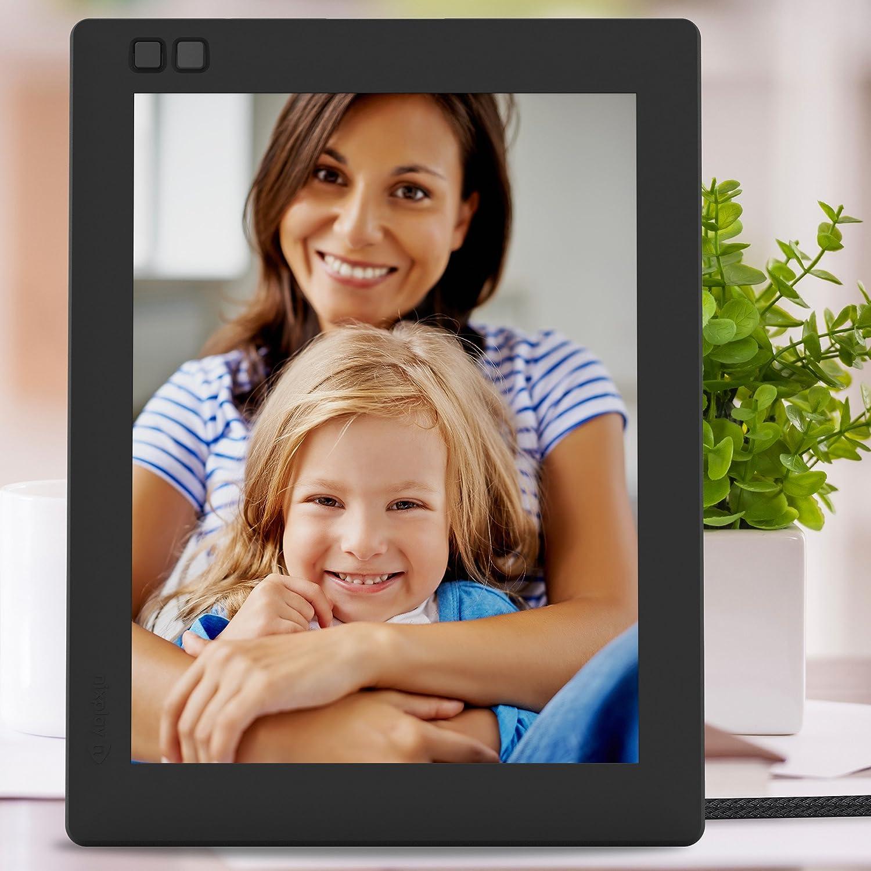 nixplay seed 10 inch wifi digital photo frame black