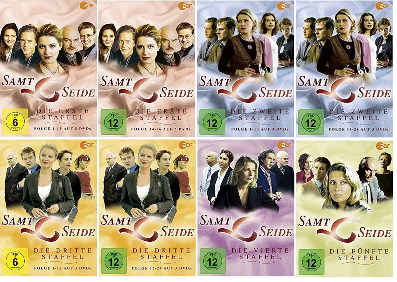 Samt Und Seide samt seide staffel 1 2 3 4 5 dvd set komplette serie amazon