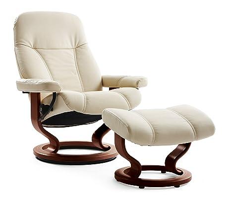 Original de estrés (M) sin CONSUL sillón con taburete de ...