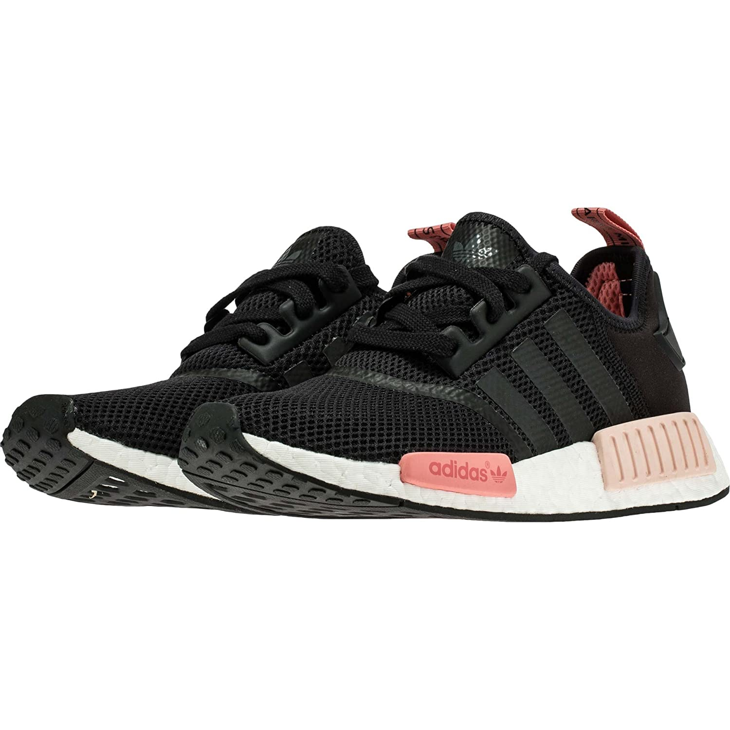 Amazon.com | Adidas WOMEN NMD Runner Mesh Black/Peach S75234 Yeezy (10) |  Running