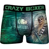 Crazy Boxers Chewbacca Boxer Briefs for Men