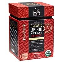 Organic Reishi Mushroom Extract Powder by Mehdi Reishi– 30 Servings, 1,000mg–100%...