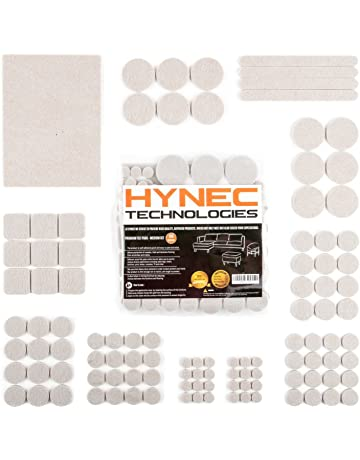 78e3be72cb3 Hynec Premium Furniture Felt Pads Medium Set 7 Different Sizes Self  Adhesive Floor Protection