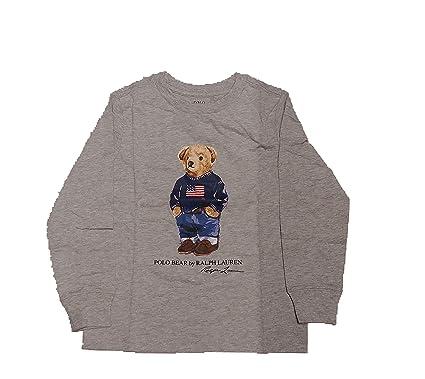 Polo Ralph Lauren - Bear tee TP TSH - Camiseta Manga Larga Oso (6 ...