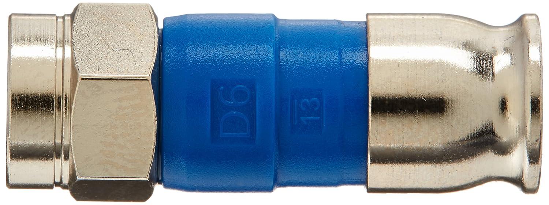 Amazon.com: BELDEN Blue RG6 Snap-N-Seal Compression Connectors (Bag of 50): Electronics