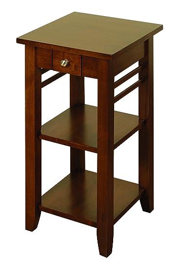 Amazon.com: Hawaii Muebles de madera sólida teléfono ...