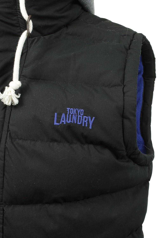 Mens Hoodie Bodywarmer// Gilet by Tokyo Laundry Annerley