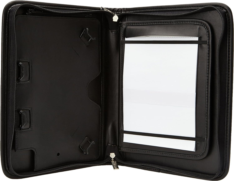 Display, mit herausnehmbarem // aufklappbarem Halter, Pr/äsentationsst/änder f/ür Quer- und Hochformat 25,7 cm schwarz f/ür Samsung Galaxy oder Tablet-PC, mit 10.1 Zoll Wedo 5874901 Elegance Tab-Organizer