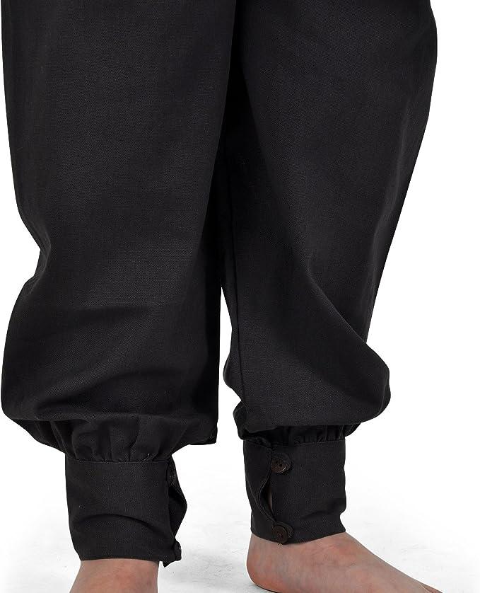 Pantalones medievales infantiles - traje de criado, caballero o ...