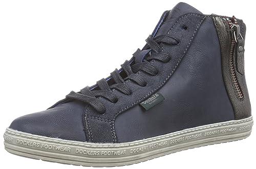 Dockers 35ne215 - Haute Chaussures Femme En Plastique, De Couleur Noire, De Taille 38