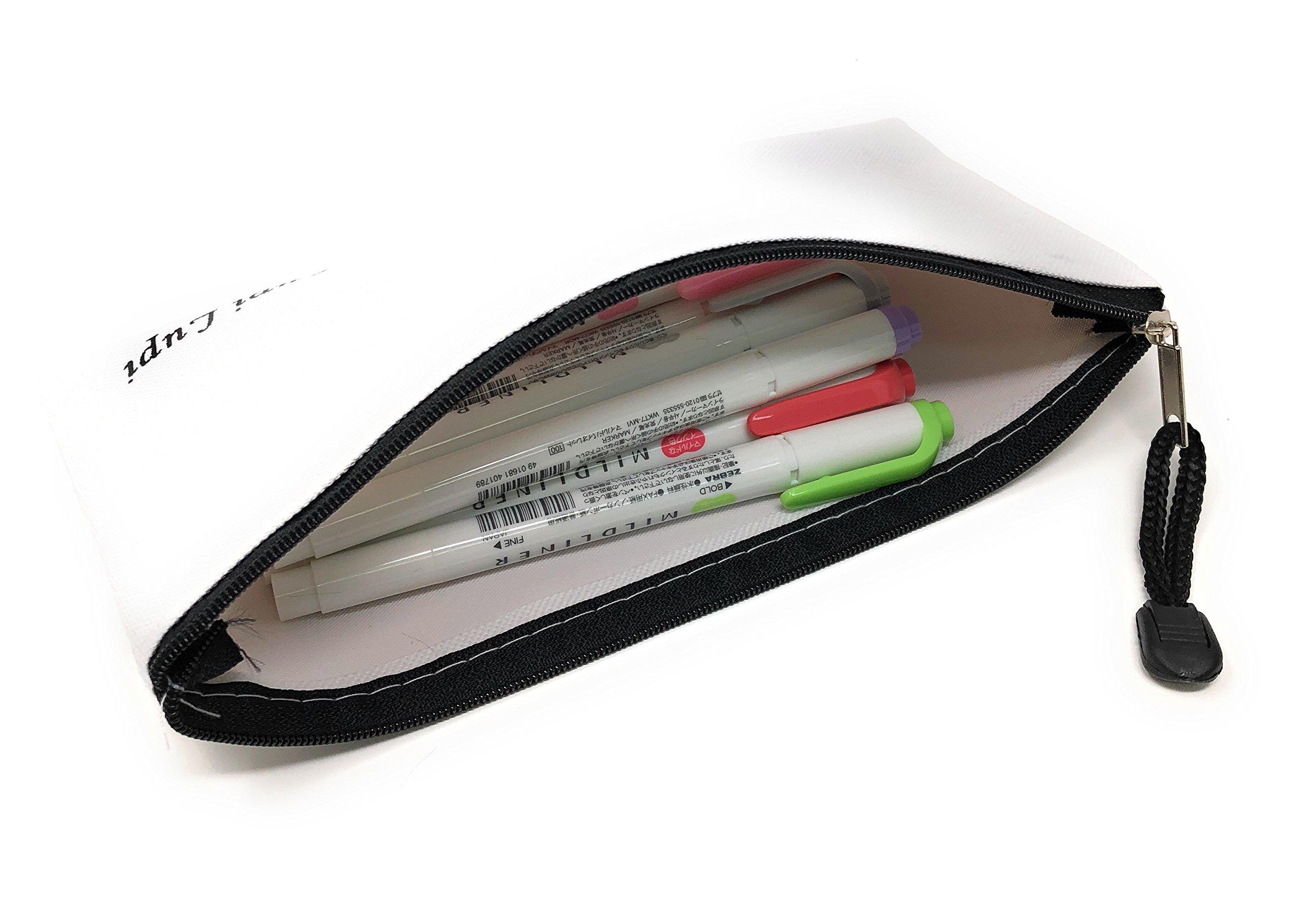 Zebra MILDLINER WKT7-5C (5-Color Set) / WKT7-5C-RC (5-Color Set) /WKT7-5C-NC (5-Color Set)3 pack With original pen case by Lupi Lupi (Image #6)