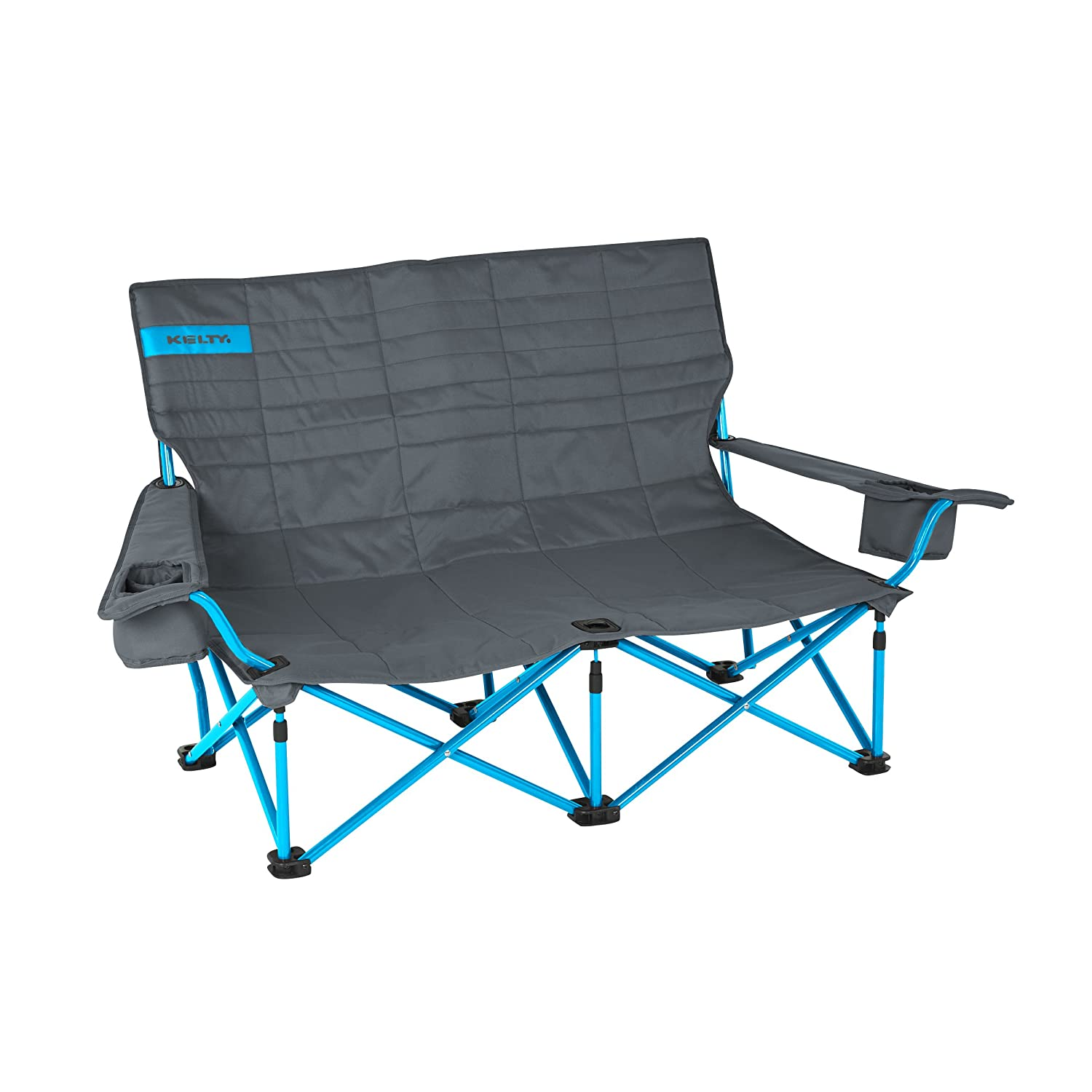 Amazon Kelty Low Loveseat Camp Chair Smoke Paradise Blue