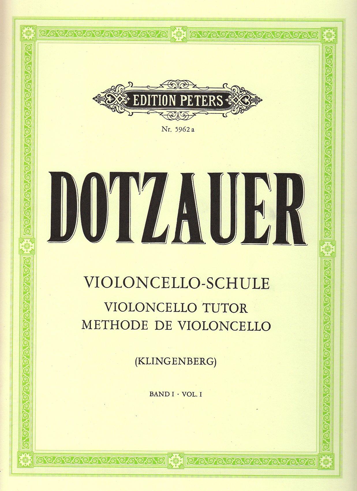 Violoncello-Schule - Band 1: Erste und halbe Lage (Grüne Reihe Edition Peters)
