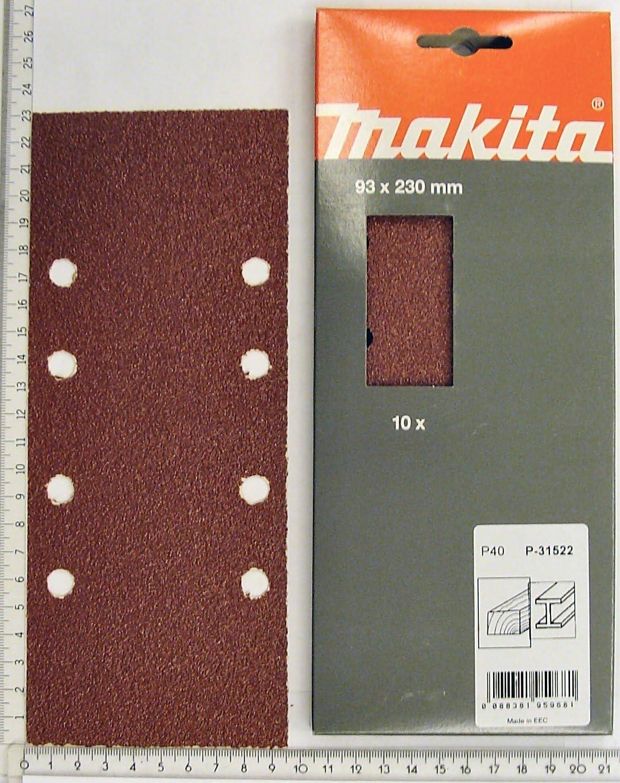Lija perforada Makita P-31837