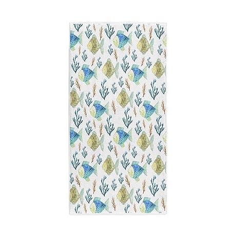 Semtomn - Toalla de baño (35,6 x 76,2 cm), diseño de pulpo ...