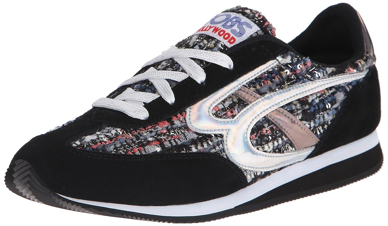 Skechers BOBS from Women's Sunset Fashion Sneaker B00T00OSX6 9 B(M) US|Black/Gray