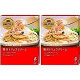 ピエトロ 洋麺屋ピエトロ パスタソース 贅沢 トリュフクリーム 2個セット
