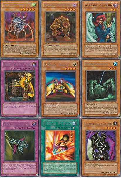 Amazon.com: Yugioh Rare 9 Card Lot Inseto Supremo Lv.5 ...