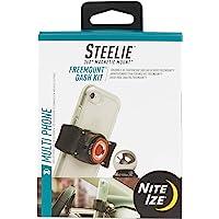 Nite Ize Original Steelie Freemount Dash Kit - Adjustable Magnetic Bracket + Car Dash Mount for Smartphones