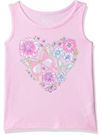 223fafe83 The Children's Place Baby Girls Novelty Graphic Matchable Tank Tops