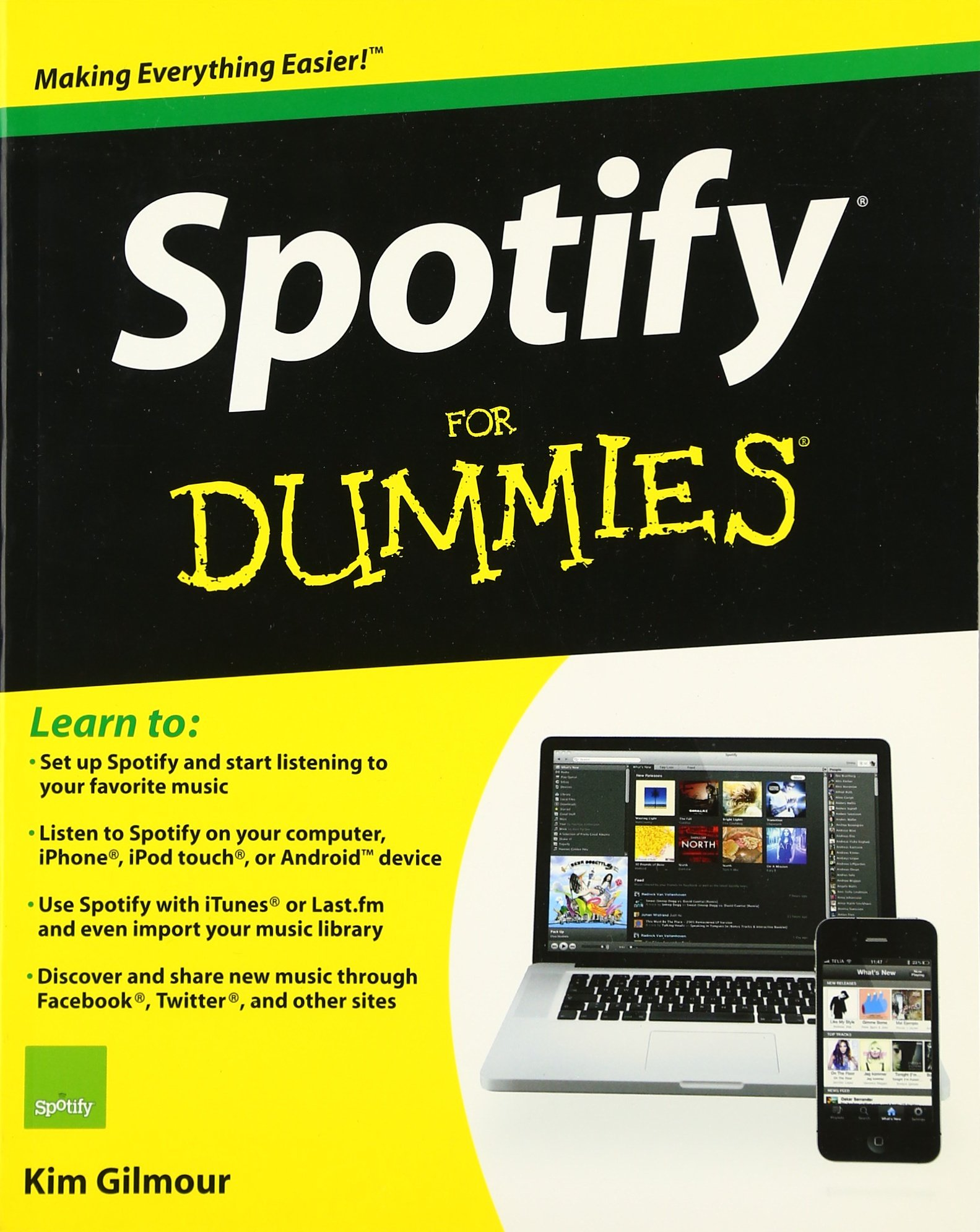 Spotify For Dummies: Amazon ca: Kim Gilmour: Books