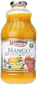 Lakewood Juice Mango Organic, 32 oz