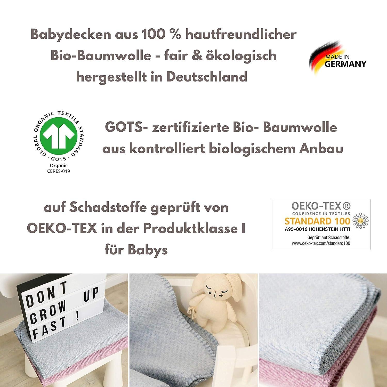 Baby ❤Decke ❤Schmusedecke❤ Baumwolle Kuscheldecke ❤