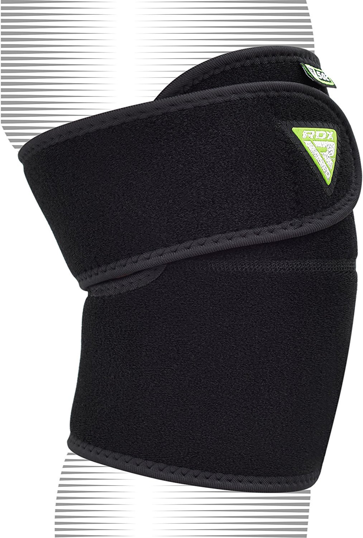 Se Vende Como un Solo Elemento RDX Neopreno El/ástica Soporte Rodilla Crossfit Deportivo Fitness Alivio del dolor Velcro respirable ajustable Artritis Ligamento Rodillera
