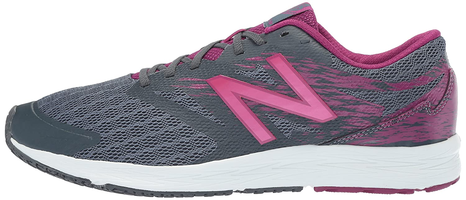 New Balance Women's Flash V1 Running Shoe B073G24GQ2 10.5 B(M) US|Dark Grey/Berry