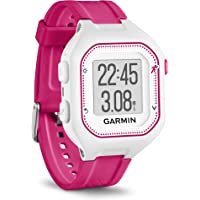 Garmin Forerunner 25 GPS Running Watch (White and Pink)