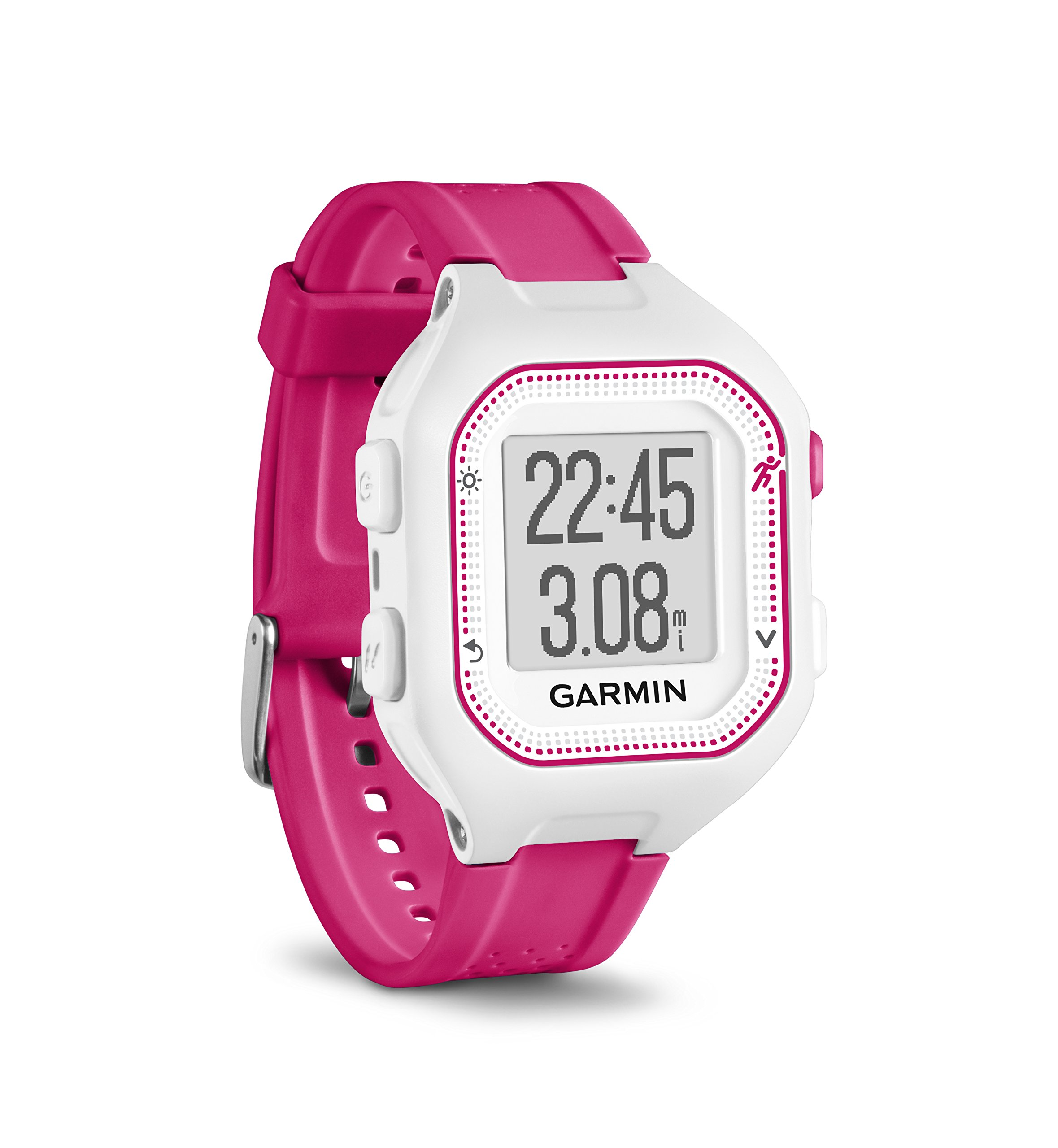 Garmin Forerunner 25, Small - White and Pink by Garmin