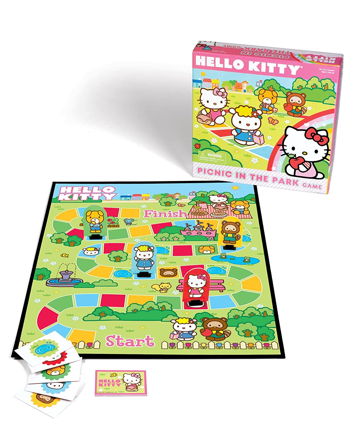 Uncategorized Hello Kitty Game amazon com hello kitty picnic in the park game toys games