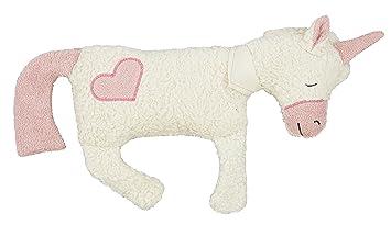 efie térmica de espelta Cojín Unicornio con corazón, cultivo ...