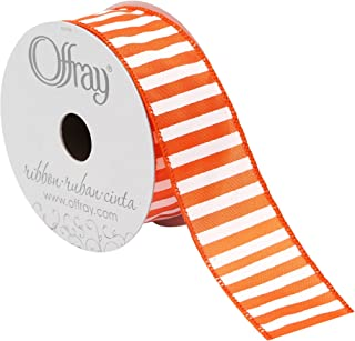 product image for Offray 988785 Stripe Spirit Wired Edge Ribbon