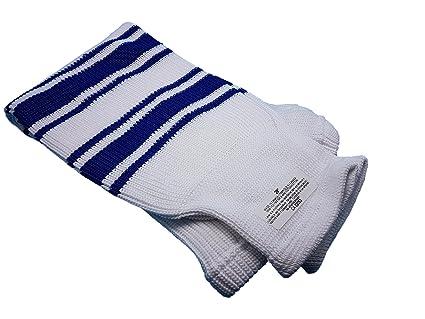 Amazon Com Hockey Socks Knit Senior Junior Sizes Multiple Colors