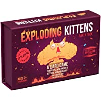 Exploding Kittens Party Pack - play Exploding Kittens with up to 10 players!