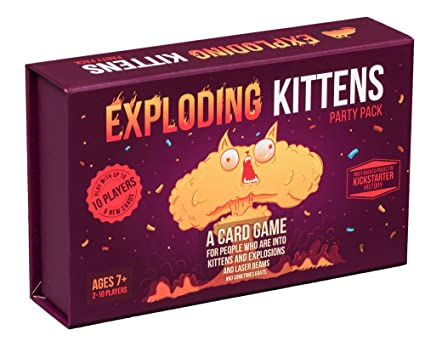 Overig Imploding Kittens First Expansion of Exploding Kittens Party Card Family Game