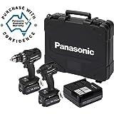 Panasonic EYC215LJ2G57 Drill Driver & Impact Driver Combo Kit 18V 5.0Ah
