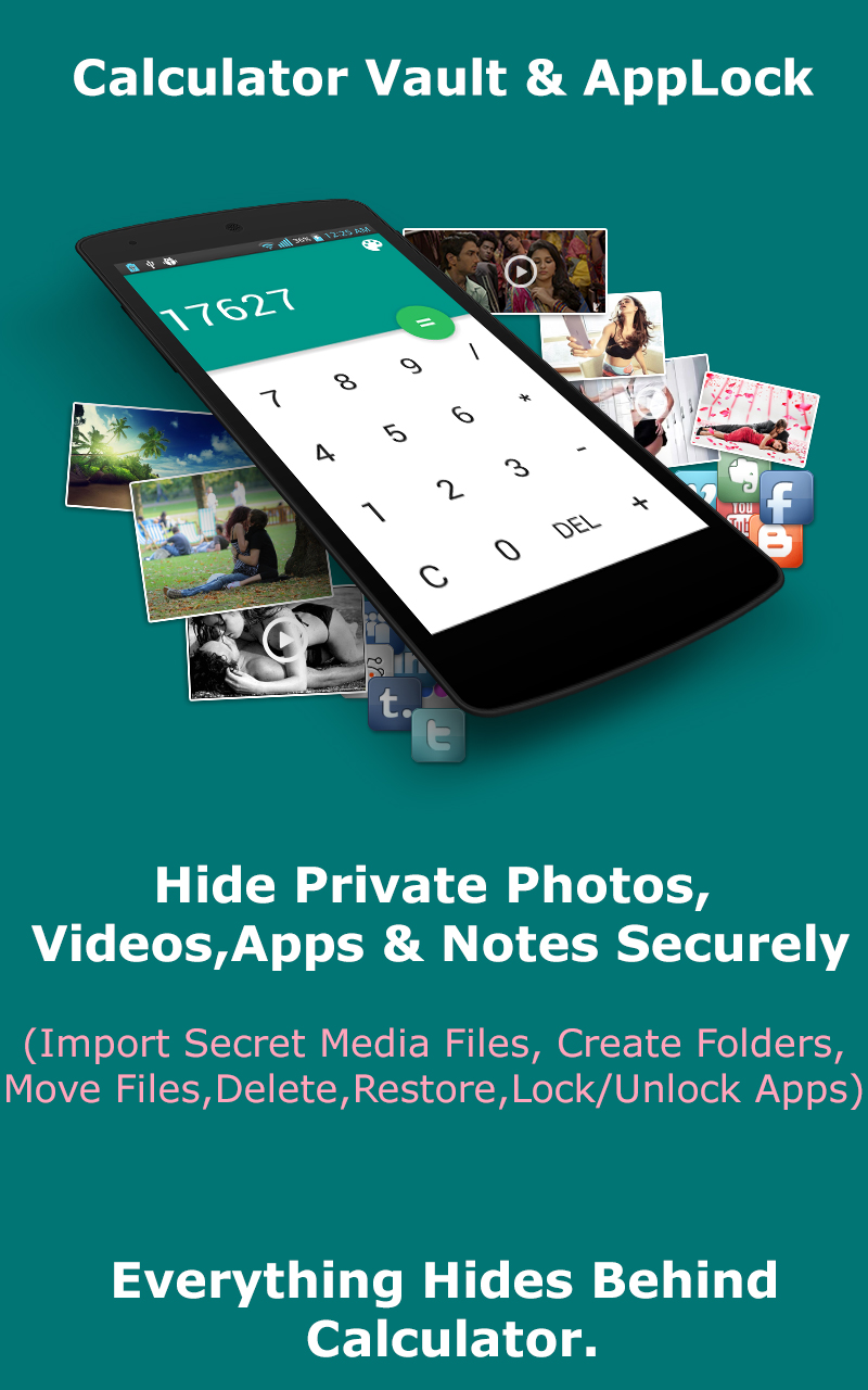 How to unlock private photo vault