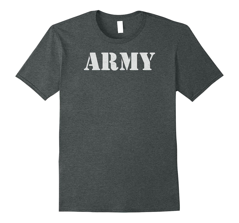 U.S. Army Shirt Vintage Infantry Ranger APFU Tee-FL