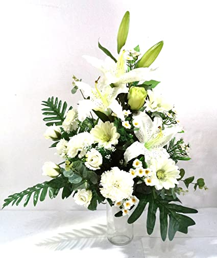 Lba Centro De Flores Artificiales Para Cementerio Preparado