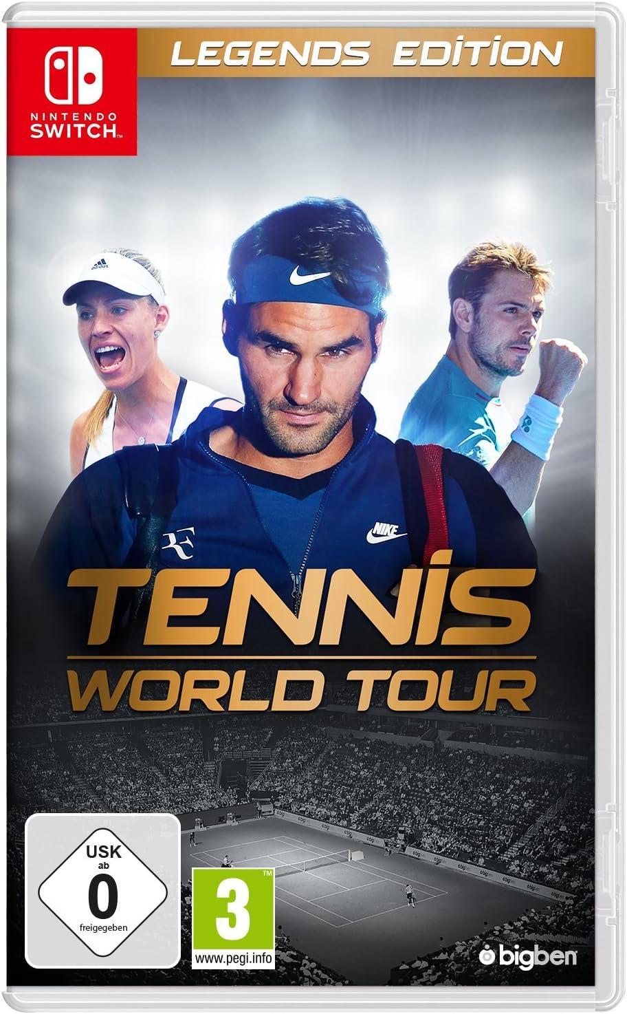 Tennis World Tour Legends Edition SWITCH [Importación alemana]: Amazon.es: Electrónica