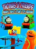 THOMAS & FRIENDS MINIS Turn N Twist Stunt Fisher Price Toy Review [OV]
